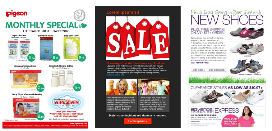 Customized email templates redbuttonmail email newsletter templates spiritdancerdesigns Image collections